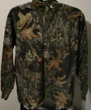 Mossy Oak Camo Mock LS T-Shirt (Men's Medium)