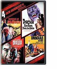 DRACULA : HORROR OF / TASTE THE BLOOD OF / SATANIC RITES /AD 1972 (DVD) Region 1
