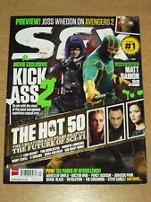 SFX #238 SEPTEMBER 2013 KICKASS 2 AVENGERS JOSS WHEDON MATT DAMON MAGAZINE
