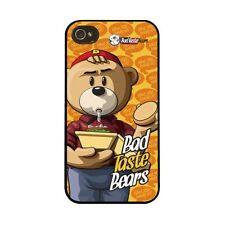 BAD TASTE BEARS - HARD CASE I PHONE 4/4S COVER  - BAD TASTE - NEW