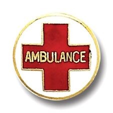Ambulance Red Cross Lapel Pin Professional Medical Emblem Insignia 929 New