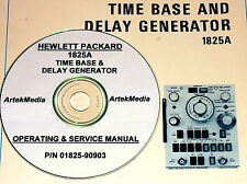 HP 1825A TIME BASE PLUG-IN OPERATING &  SERVICE MANUAL