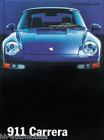 Porsche 911 Carrera Prospekt GB 1994 7/94 engl. brochure broszura catalogue