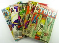MARVEL Comics THOR (THE MIGHTY) #324 325 327 330 + ANNUAL 12 UNGRADED READER LOT