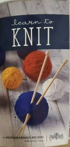Learn To Knit - Complete Starter Kit - Needles - Accessories - Yarn Included