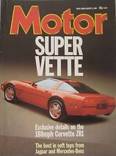 Motor magazine 6/8/1988 featuring Jaguar, Mercedes, Rover road test, Corvette