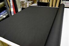 2NDS FABRIC BLACK 1000D CORDURA NYLON FABRIC OUTDOOR WATERPROOF DWR SOLD BTY