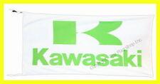 K AWASAKI FLAG BANNER  WHITE  ninja concours vulcan 5 X 2.45 FT 150 X 75 CM