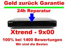 Xtrend ET 9500 blinkt nur blau? Reparatur in 24 Stunden - oder Xtrend ET 9200