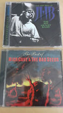 """JEFF HEALEY BAND CD """"BEST OF"""" & NICK CAVE & THE BAD SEEDS CD """"BEST OF"""" MINT !!"""