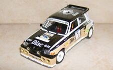 RENAULT MAXI 5 TURBO WINNER RALLYE DU VAR 1986 FRANCOIS CHATRIOT ALTAYA 1/43
