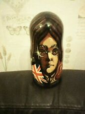 THE BEATLES 5 NEST HAND MADE & PAINTED RUSSIAN DOLL JOHN LENNON PAUL MCCARTNEY