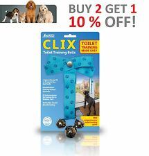 CLIX Toilet Training Bells BRAND NEW For Dogs Puppies