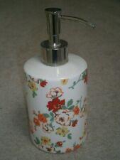 GORGEOUS CATH KIDSTON FLOWERY CERAMIC PUMP ACTION LIQUID SOAP DISPENSER HANDWASH