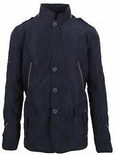 VAN SANTEN & VAN SANTEN Jacke Jacket Mantel Coat Größe L Navy Blue Luxus Polo