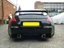Nissan 350Z Rear Bumper Diffuser Meduza Design Track Aero Dynamics Body Kit