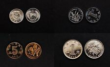 CHINA 2015 Circulation coins Complete Set X4 Coins -1YUAN, 5JIAO,1JIAO,1FEN UNC