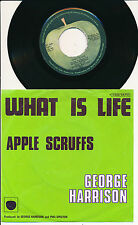 "GEORGE HARRISON 45 TOURS 7"" WHAT IS LIFE"