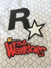 Brand New Original Rockstar Games THE WARRIORS Sticker