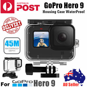 For GoPro Hero 9 Waterproof Protective Housing Case Diving Camera Accessories