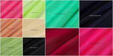 5 Meter Chanderi Silk Natural Slub Colour Cloth Dress Fabric Indian Craft Sewing