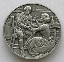 DAR Medal - ELIZABETH MAXWELL STEELE. great Women of the American Revolution.