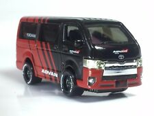 1/64 scale Toyota Hiace Advan team diecast model car - Loose (without box)