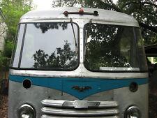 """PAIR of  """"LT & RT"""" ..Vintage Grumman Olson Kurbside Step Van repo corner window."""