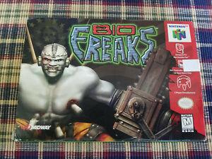 Bio Freaks - Nintendo 64 - N64 - Authentic - Box Only!