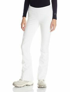 Spyder Women's Ski Pants Softshell Pant White Size 42