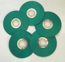 5 Pcs BLUE LightScribe Colored CD-R, 52X Disc Storage 700MB In Paper Sleeves
