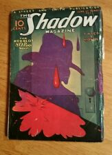 """THE  SHADOW   June 1,1933  """"Red Blot"""""""
