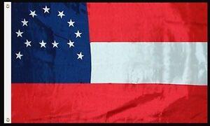 5x8 Embroidered Sewn General Robert E. Lee 600D Nylon Flag 5'x8' (Heavy Duty)