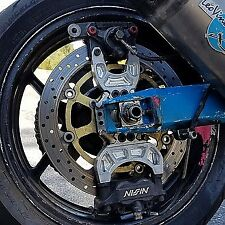 03-04 Kawasaki New Breed Triple Caliper Bracket and 320mm Rotor
