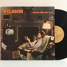 Nilsson THAT'S THE WAY IT IS 1976 RCA promo LP APL1-1119 gatefold Minty