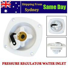 New White Mains Water Inlet Pressure Regulator Filler Entry for Caravan RV