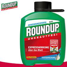 Roundup Exempt de Mauvaises Herbes 2,5 L AC Prêt À L'Emploi Glyphosatfrei Combat