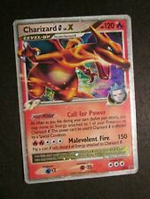PL Pokemon CHARIZARD G LV.X Card BLACK STAR PROMO DP45 Set Holo Rare PLAYED AP#1