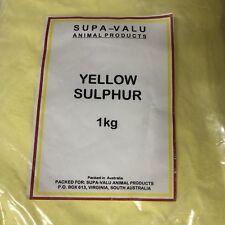 Yellow Sulphur Powder 1kg ~ Animal Product