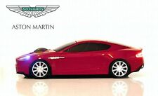 Aston Martin DBS Auto Wireless Mouse (Rosso) Regalo Di Natale