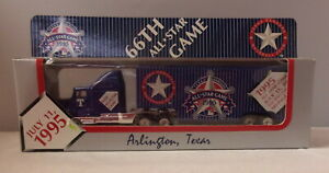 MJ7 Matchbox/WR - 1995 Team Collectible -  Kenworth T600 - Blue - 66th All Star