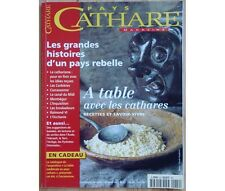 Collectif - Magazine Pays Cathare - n°22 - Les grandes histoires d'un pays rebel