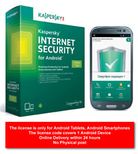 Kaspersky Internet Security for  Android 2019 / 1 Year / 1 device / Brand New /