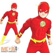 Déguisement Garçon Enfant Super Héro FLASH Rouge 10//11//12 Ans NEUF pas cher