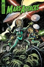 MARS ATTACK #1 COVER A - DYNAMITE - 1ST PRINT - BAGGED & BOARDED. FREE UK P+P