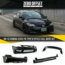 06-12 Honda Civic FD Type R Style Body Kit