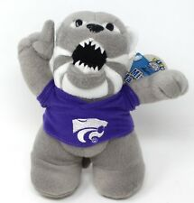 Team Crossbars Mini Mascot Willie Wildcat Kansas State College Bean Bag Plush