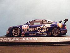 Mercedes Benz CLK DTM 2001 1:43RD. escala Minichamp D. TURNER