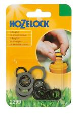 Hozelock Spares Kit Rubber Fittings 5 Tap Connector Washers Black 10 Hose O Ring