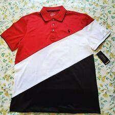 Big & Tall Polo Ralph Lauren Mens Performance Polo Shirt Multi Color 3XLT